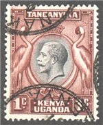 Kenya, Uganda and Tanganyika Scott 46 Used
