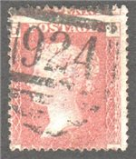 Great Britain Scott 33 Used Plate 146 - PD