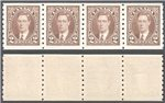 Canada Scott 239 MNH VF Strip (P)