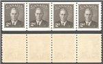 Canada Scott 298ii MNH VF Strip (P)