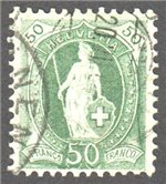 Switzerland Scott 96a Used