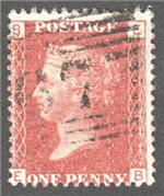 Great Britain Scott 33 Used Plate 119 - EB