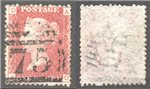 Great Britain Scott 33 Used Plate 144 - AD