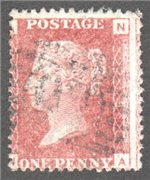 Great Britain Scott 33 Used Plate 213 - NA