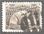 Newfoundland Scott 68 Used F