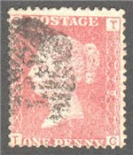 Great Britain Scott 33 Used Plate 79 - TG