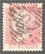 Great Britain Scott 33 Used Plate 95 - LE