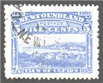 Newfoundland Scott 91 Used VF