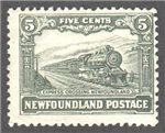 Newfoundland Scott 167 Mint F (P13.5)