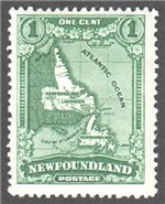 Newfoundland Scott 163 Mint F (P13.8x14)