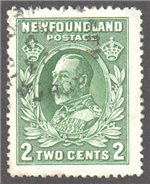 Newfoundland Scott 186 Used VF (P13.75)(P667)