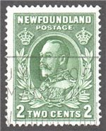Newfoundland Scott 186 Used F