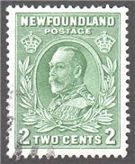 Newfoundland Scott 186ii Used VF