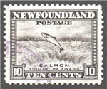 Newfoundland Scott 260 Used VF