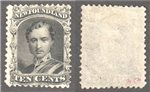 Newfoundland Scott 27a Mint F (P)