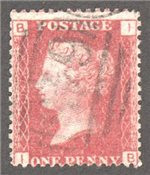 Great Britain Scott 33 Used Plate 97 - IB