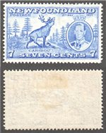 Newfoundland Scott 235iii Mint VF (P13.7) (P)