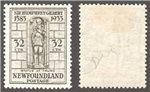 Newfoundland Scott 225ii Mint VF (P)