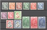 New Zealand Scott 288-301 Mint Set (P)