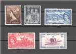 New Zealand Scott 280-284 Mint Set