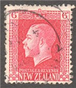 New Zealand Scott 154 Used