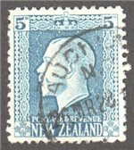 New Zealand Scott 153 Used