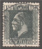 New Zealand Scott 161 Used