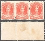 Nova Scotia Scott 12a Mint VF Trio (P)