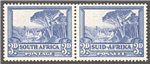 South Africa Scott 57 Mint Pair