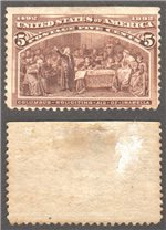 United States Scott 234 Mint (P)