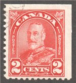 Canada Scott 165bs Used VF