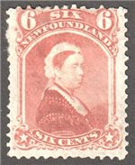 Newfoundland Scott 35 Mint F