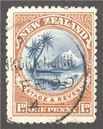 New Zealand Scott 71 Used
