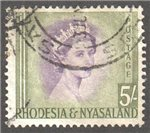 Rhodesia and Nyasaland Scott 153 Used