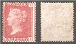 Great Britain Scott 33 Mint Plate 111 - AA (P)