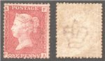 Great Britain Scott 33 Mint Plate 72 - FA (P)