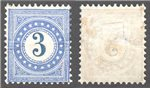 Switzerland Scott J3a Mint (P)