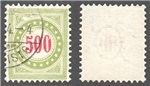 Switzerland Scott J28a Used (P)