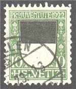 Switzerland Scott B22 Used