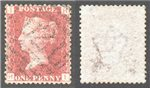 Great Britain Scott 33 Used Plate 136 - HI