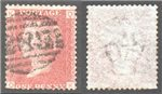 Great Britain Scott 33 Used Plate 136 - QK