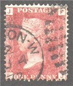 Great Britain Scott 33 Used Plate 145 - FJ