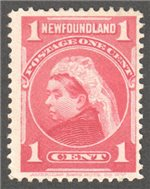 Newfoundland Scott 79 Used F