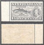 Newfoundland Scott 233iii MNH VF (P14.1) (P)