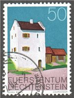 Liechtenstein Scott 642 Used