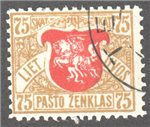 Lithuania Scott 57 Used