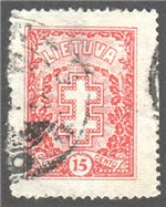 Lithuania Scott 240 Used