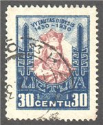 Lithuania Scott 247 Used