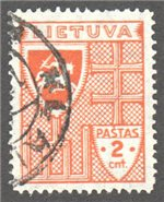 Lithuania Scott 296 Used