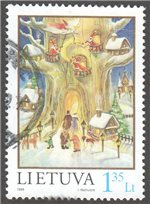 Lithuania Scott 616 Used